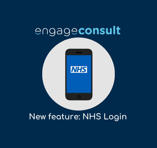 Engage Website Image Templates 5 NHS Login available for patients using Engage Consult